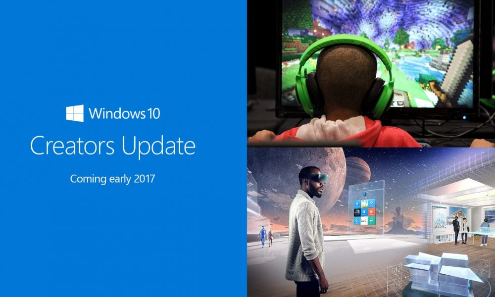 Windows 10 le novità del 2017 con Creators Update
