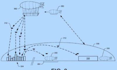 Amazon brevetta i magazzini volanti: ecco dove saranno