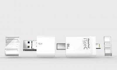 PhotoFast iType-C, la chiavetta universale 4 in 1
