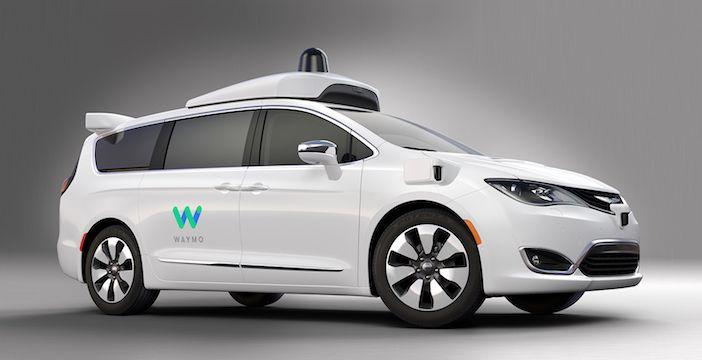 Google Waymo, la nuova Chrysler Pacifica a guida autonoma