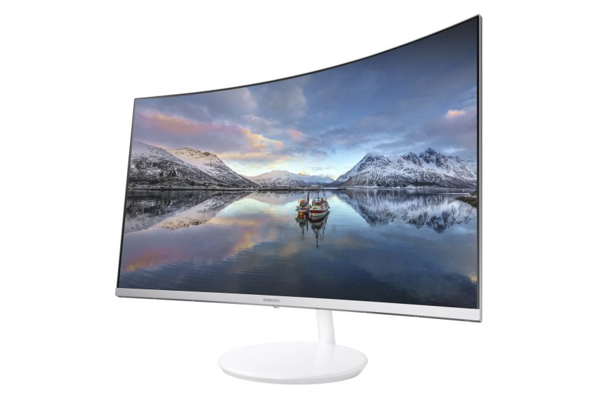 Samsung presenterà a CES il monitor curvo CH711 Quantum Dot
