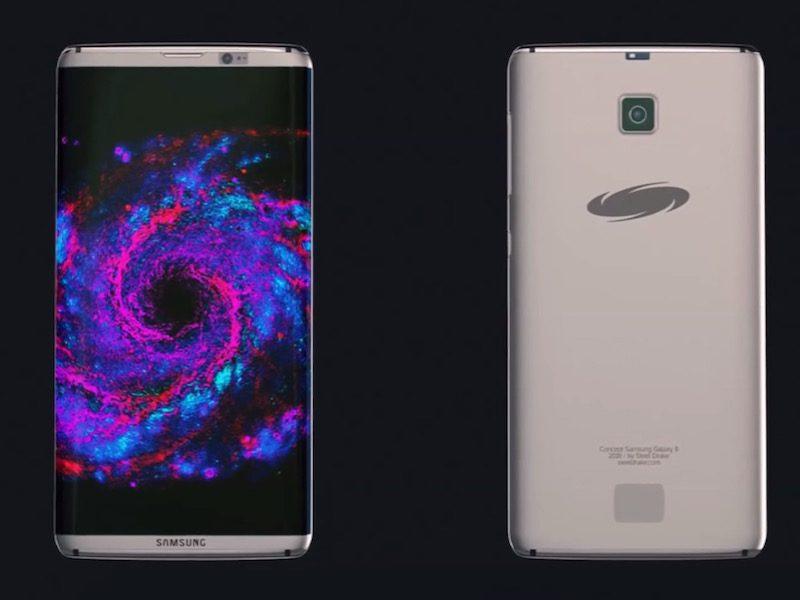 Samsung Galaxy S8, il primo smartphone senza cornici laterali