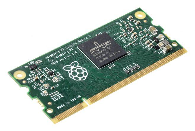 Raspberry Pi Compute Module 3: arriva l'annuncio ufficiale