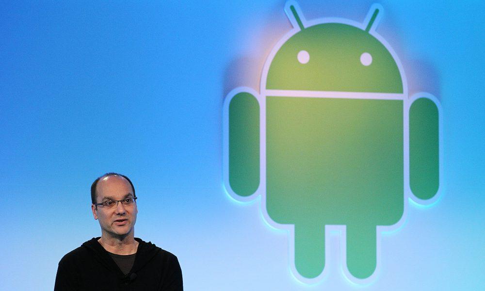 Nuovo smartphone Android annunciato da Andy Rubin, creatore dell'OS Google
