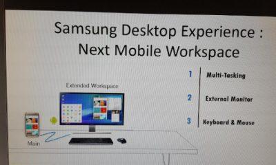 Samsung Galaxy S8 diventerà Mini PC con una funzione simile a Continuum