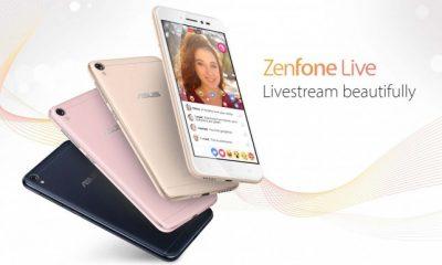 """Asus Zenfone Live, primo smartphone con live streaming """"ritoccato"""""""
