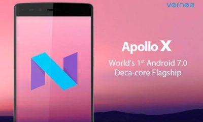 Vernee Apollo X, un nuovo smartphone deca-core per Android Nougat
