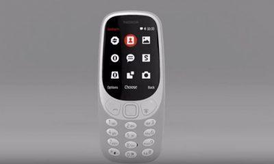 MWC 2017: presentato il nuovo Nokia 3310 e altri tre smartphone