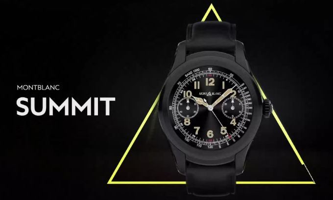 Montblanc Summit, nuovo smartwatch di lusso con Android Wear 2.0