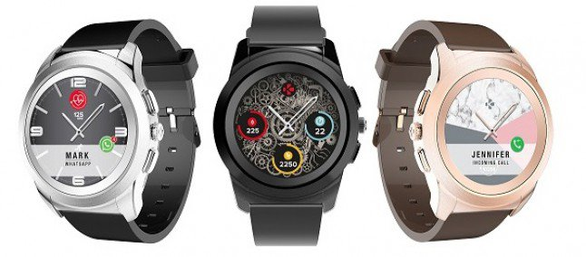 ZeTime, il primo smartwatch ibrido con lancette e schermo digitale