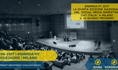 Social Media Marketing Day Italia 2017 #SMMDAYIT