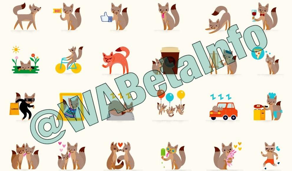 Pecore, volpi e gli altri sticker che potrebbero arrivare su WhatsApp
