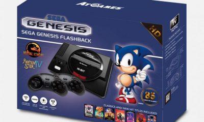 Il Sega Mega Drive torna in vita con Genesis Flashback