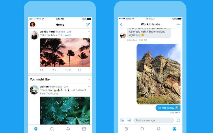Twitter cambia: nuova grafica e funzioni su iOS, Android e Web