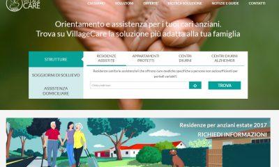 VillageCare: il primo sito per chi si prende cura di anziani fragili