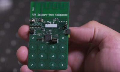 Telefonino senza batteria: cattura energia dall'ambiente