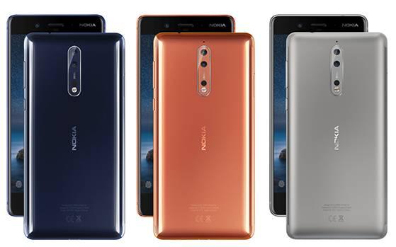 Ufficiale Nokia 8, il top di gamma di Nokia