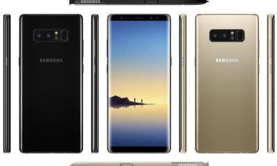 Samsung Galaxy Note 8: ecco le foto ufficiali