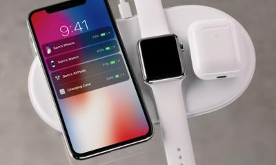 Apple AirPower: ricarica tre dispositivi, ecco come funziona