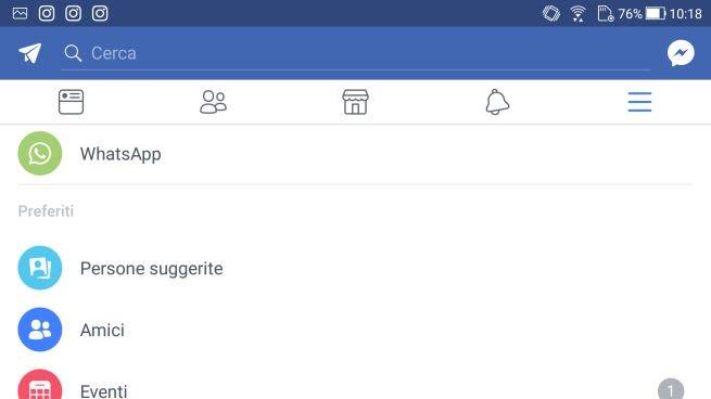 Facebook integra whatsapp