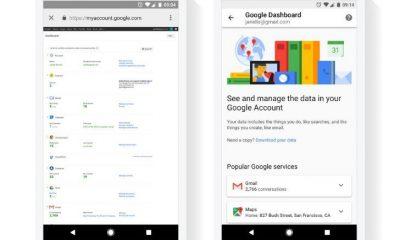 Google Dashboard: in arrivo il layout mobile per tutti