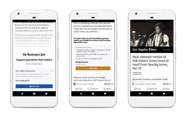 facebook news pagamento italia
