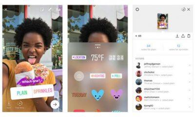 Instagram: nelle storie arrivano anche i sondaggi