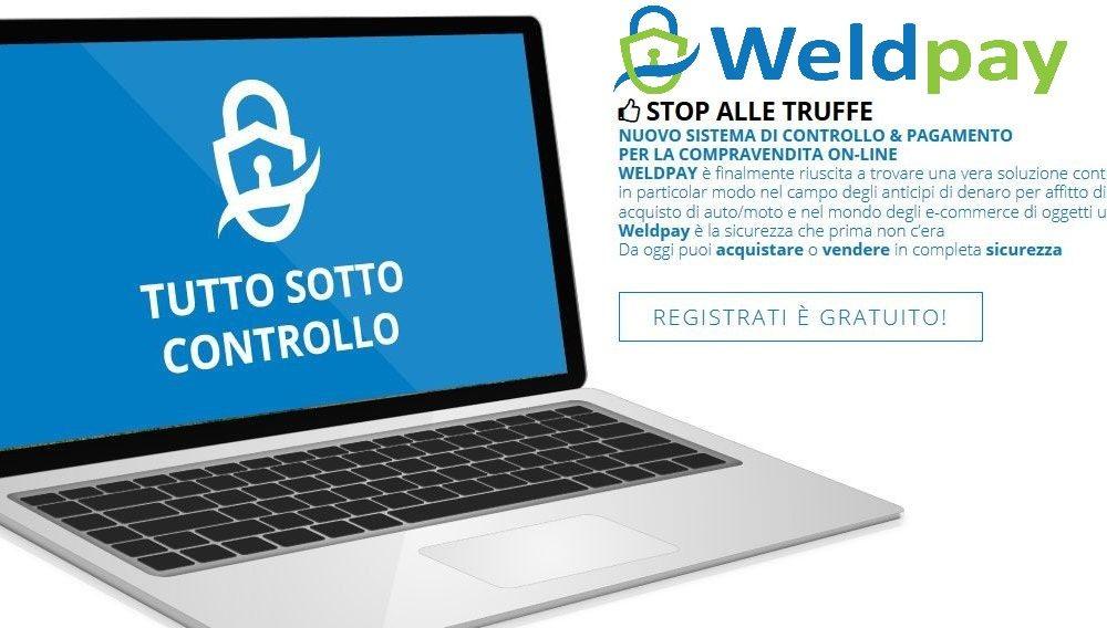 Addio truffe online: acquista e paga in sicurezza con Weldpay