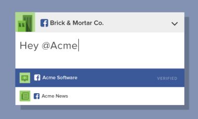 Facebook: addio alla @ per i tag dei commenti?