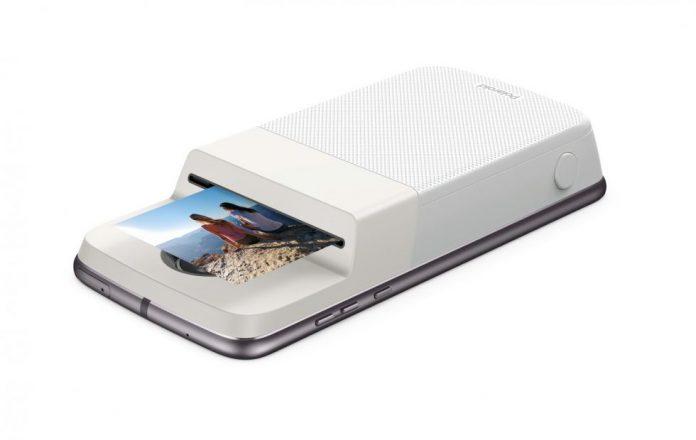 Polaroid Insta-share printer Moto Mods