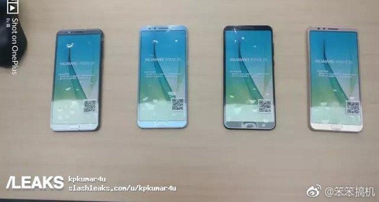 """Huawei Nova 2s: le foto """"rubate"""" e la scheda tecnica"""