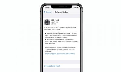 Apple rilascia iOS 11.1.2 e risolve il problema del display di iPhone X