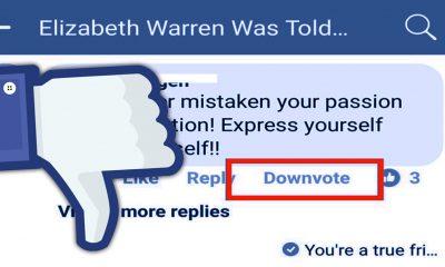 Facebook testa un nuovo pulsante simile al Non mi piace: ecco Downvote