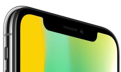 Apple toglierà la tacca nera (notch) dall'iPhone 2019