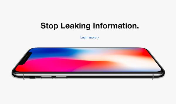 apple leaked