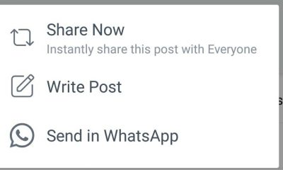 Facebook verso la condivisione post su WhatsApp
